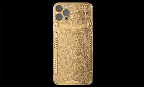 Caviar iPhone 12 Pro :: Pure Gold