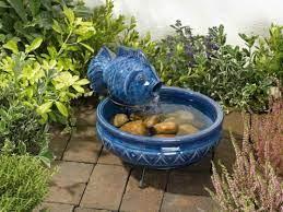 small garden water fountains