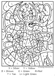 Color By Number Worksheets Free 6150 Coloring Worksheet Coloring