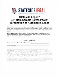 24 Lease Termination Letter Samples & Templates | Sample Templates