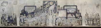 diego rivera murals rockefeller. Wonderful Murals An Early Sketch Of The Mural Shows How It Differed From What Diego Rivera  Painted In Rockefeller Center Courtesy Museo Frida Kahlo Hide Caption On Murals E