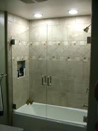 frameless glass bathtub doors sliding tub