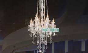 42cm long big chandelier e42 led lamps modern large luxury crystal
