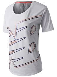 New Balance Women's <b>Graphic Heather Tech Tee</b>