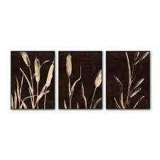 garden inverse framed wall art 3 on brown framed wall art with dark brown art prints wall art the home depot