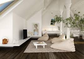 White Cabinet Living Room Apartment Decorations And Accessories In The Interior Loft