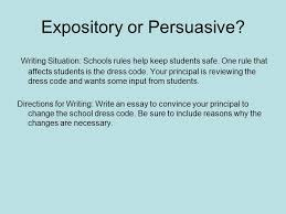 bring on the writing prompts ppt video online  19 expository or persuasive