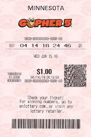 Gopher 5 Minnesota Lottery