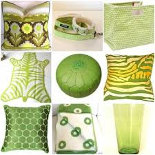 Lime Green Decorative Accessories Citrus Color Accessories 2