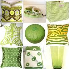 Lime Green Decorative Accessories Citrus Color Accessories 2