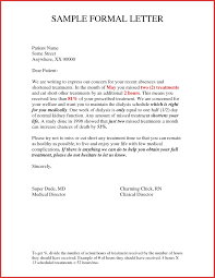 Formal Letter Format To Company Formal Letter Personal Information Example And Informal
