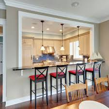 Half Wall Breakfast Bar Design, Pictures, Remodel, Decor and Ideas