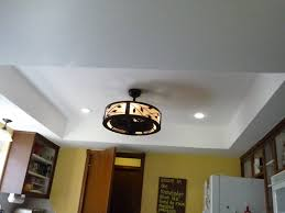 Kitchen Ceiling Fans With Lights Replacing Recessed Lighting With Ceiling Fan Ceiling Fan Light