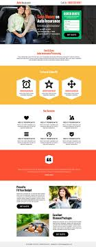 save money on auto insurance best landing page design template s
