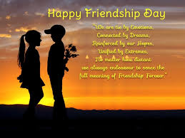 2018 Happy Friendship Day Quotes Sayings