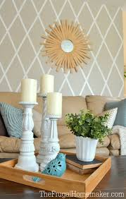 Painted Wall Designs How To Paint A Diamond Accent Wall Using Scotchblue Painters Tape