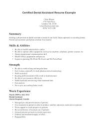 Nursing Assistant Resume Objective Certified Nursing Assistant Resume Examples