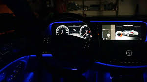 ambient interior lighting. 2015 Mercedes S550 - Interior Ambient Lighting Colors Demonstration YouTube N