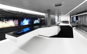 magnificent ideas for hi tech office design amazing hi tech office design with white wooden black and white office design