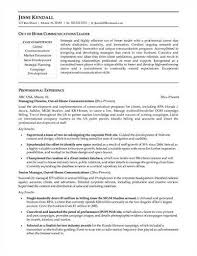 household manager resumes