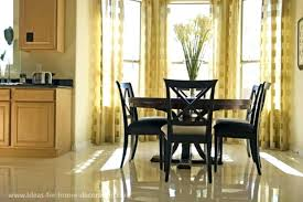 Attractive Dining Room Dining Room Curtain Ideas Drapes Modern Curtains Cheap With  Gold Bay Window