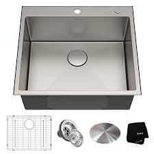 Kraus Kht301 25 Standart Pro Kitchen Stainless Steel Sink 25 Inch