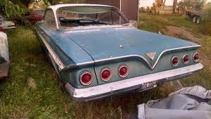 1961 Chevy Impala Matching Numbers 2 door v8 auto project - Chevy ...