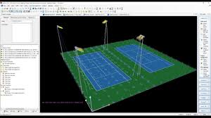 Warehouse Lighting Design Calculator Tennis Courts Lighting Design Calculations Part 1