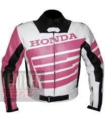 honda pink jacket