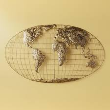 ... Beautiful Luxurious World Map Wall Art Accessories Smooth Model Choose  Style Frame Wooden Illustration Card Stock ...