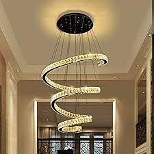Pendant lighting living room Luxury Home Image Unavailable Jamminonhaightcom Amazoncom Pendant Lights Modern Led Crystal Chandeliers Stairs