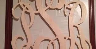 wood monogram wall decor fresh item wooden monogram letters vine room decor nursery