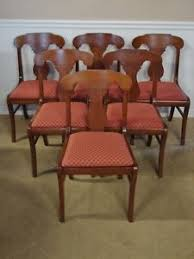 vine pennsylvania house cherry dining room chairs set of six new upholstery
