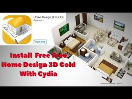 how to download install home design 3d gold free on ios jailbreak