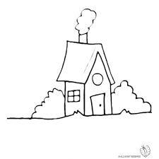 Disegno Di Casa Nel Bosco Da Colorare Per Bambini Colorare
