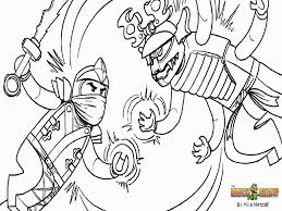 Small Picture Lego Ninjago Fighting Lego Ninjago Coloring Pages Coloring