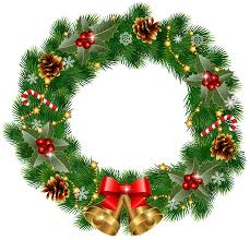 Znalezione obrazy dla zapytania christmas wreath graphic