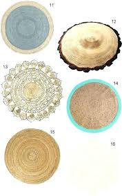 4 round jute rug 4 round jute rug natural fiber rugs archives foot round natural fiber