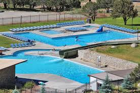 indoor pool and hot tub with a slide. Colorado-water-park-at-hot-springs Indoor Pool And Hot Tub With A Slide