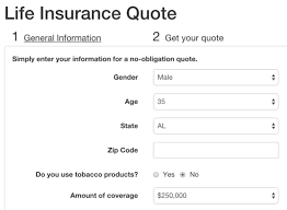 life insurance quote react port of a life insurance quick quoting