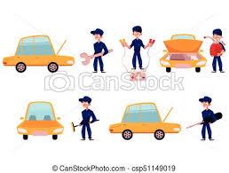 Repairing And Maintenance Mechanic Car Service Repair Maintenance Workshop