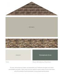 light brown paint colorsFresh Color Palettes for a Brown Roof