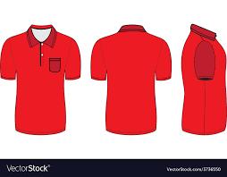 shirt design templates polo shirt design templates royalty free vector image