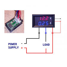 battery voltage meter wiring diagram for not lossing wiring diagram • led digital volt panel meter 10 amp 100v red blue 12 volt gauge wiring diagram 1977 corvette wiring diagram