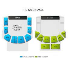 Tabernacle Atlanta Seating Chart The Tabernacle 2019 Seating Chart