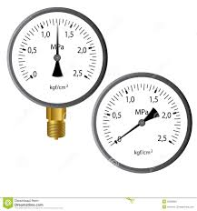 gas manometer. royalty-free stock photo. download the gas manometer e