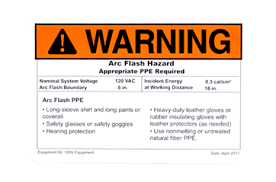 Nfpa 70e Ppe Chart 2017 Arc Flash Labeling Requirements How To Comply With Nfpa