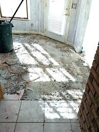removing tile from concrete floor how to remove tile adhesive how to remove tile from concrete