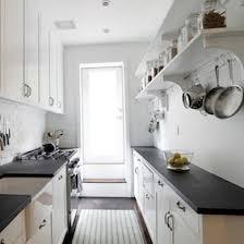 white galley kitchens. Galley Kitchen Shelves White Galley Kitchens A