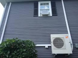 Mitsubishi Ductless Heat Pump 3 Zone Mitsubishi Ductless Hvac System Installation Heating